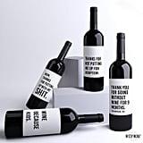 4 Funny Mom Wine Bottle Labels