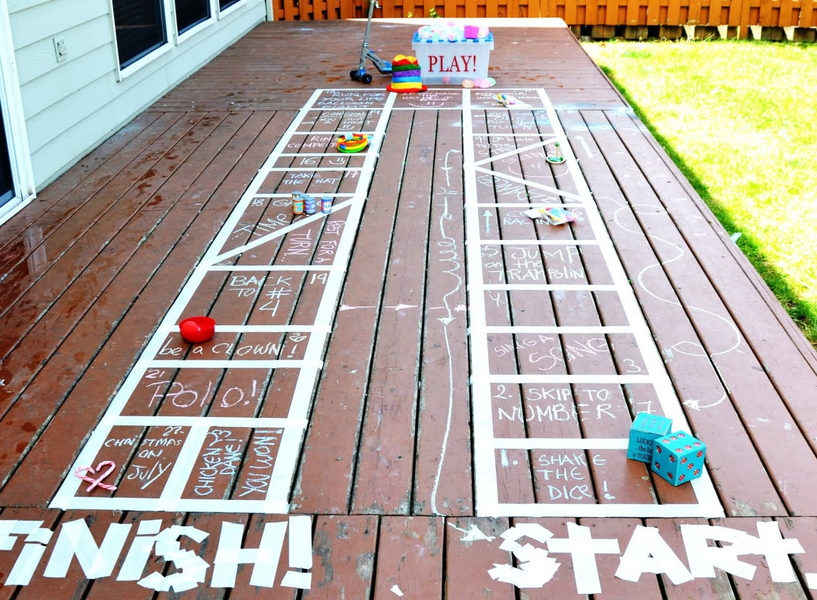Homemade Games From Pinterest Popsugar Family