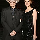 Amber Heard and Johnny Depp in 2014