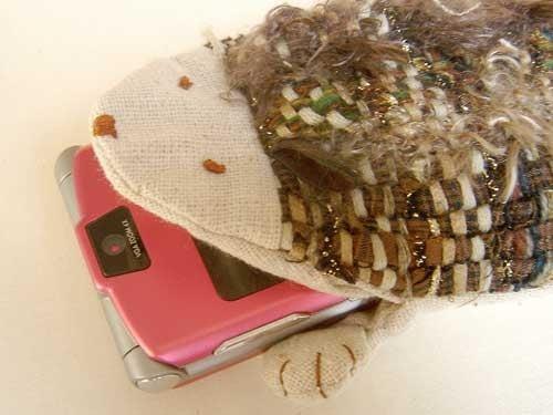 Cute Hedgehog Cell Phone Cozies
