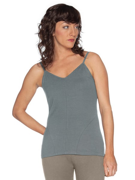 Nau's  Stylus Strappy Tank ($45) is 97 percent organic cotton and three percent spandex, making for the perfect combo of sustainable fabric and flexibility.