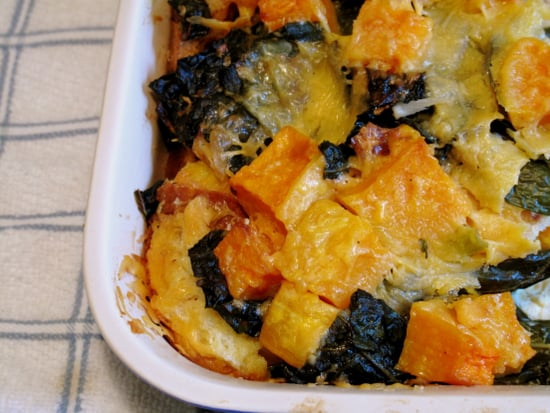 You Won't Miss the Turkey With This Savory Squash Pudding