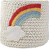 Knit Rainbow Nursery Bin