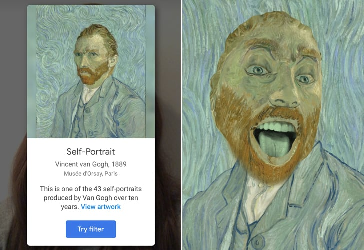 How to Use Google Arts & Culture App's New Selfie Art Filter