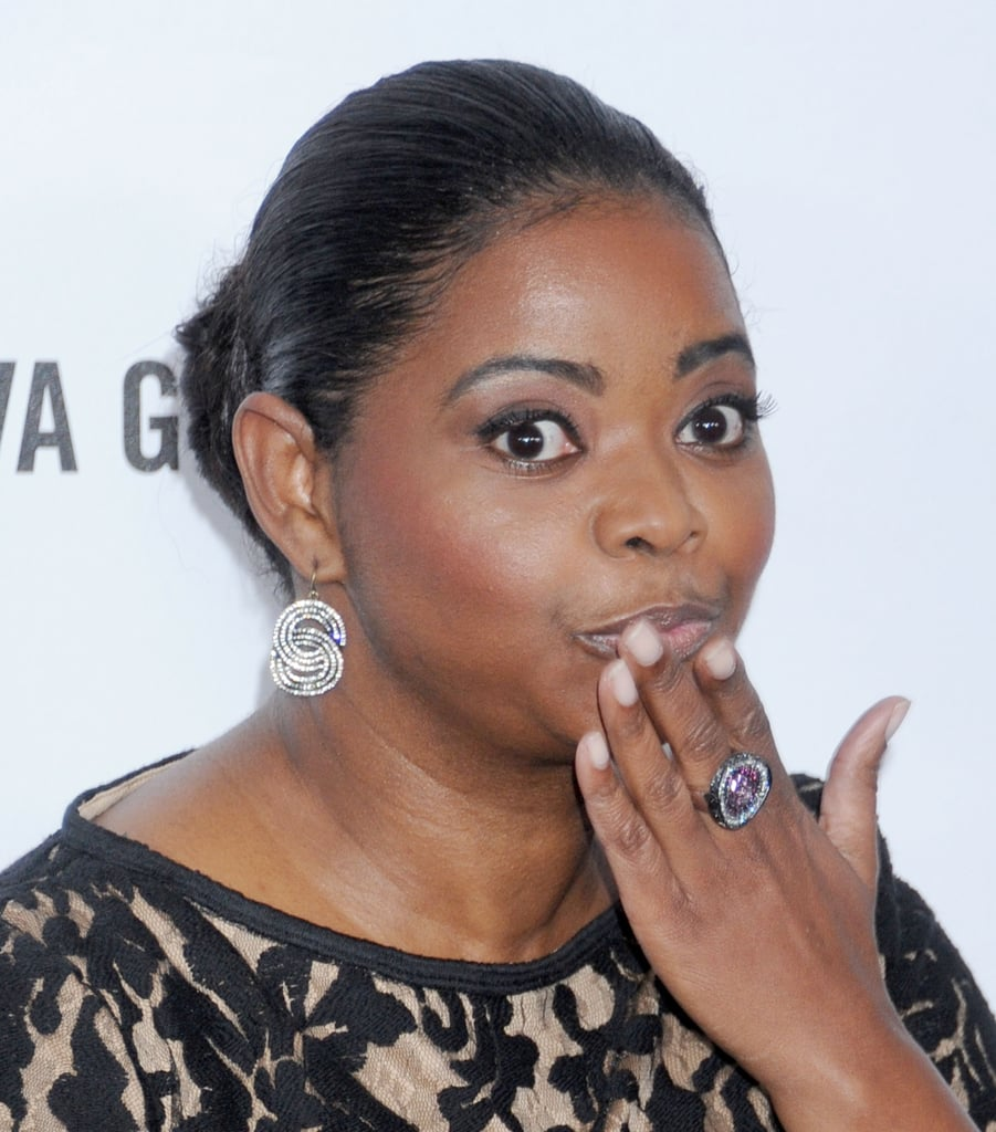 Octavia Spencer posed for photos at Milk Studios in LA.