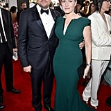 Kate Winslet and Leonardo DiCaprio at the SAG Awards 2016
