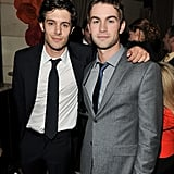 Adam Brody and Chace Crawford were friendly at InStyle and HFPA party.