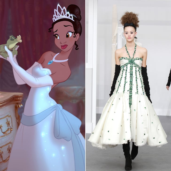 Tiana in Chanel Haute Couture