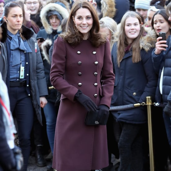 Kate Middleton Dolce & Gabbana Coat in Norway Feb 2018
