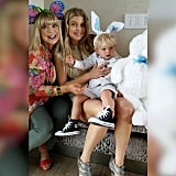Fergie shared a sweet photo of herself, her mom, and her son, Axl.