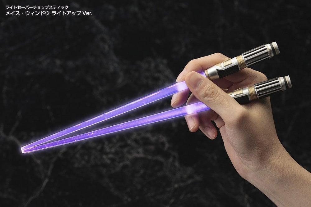 Star Wars Light Up Chopsticks ($10)
