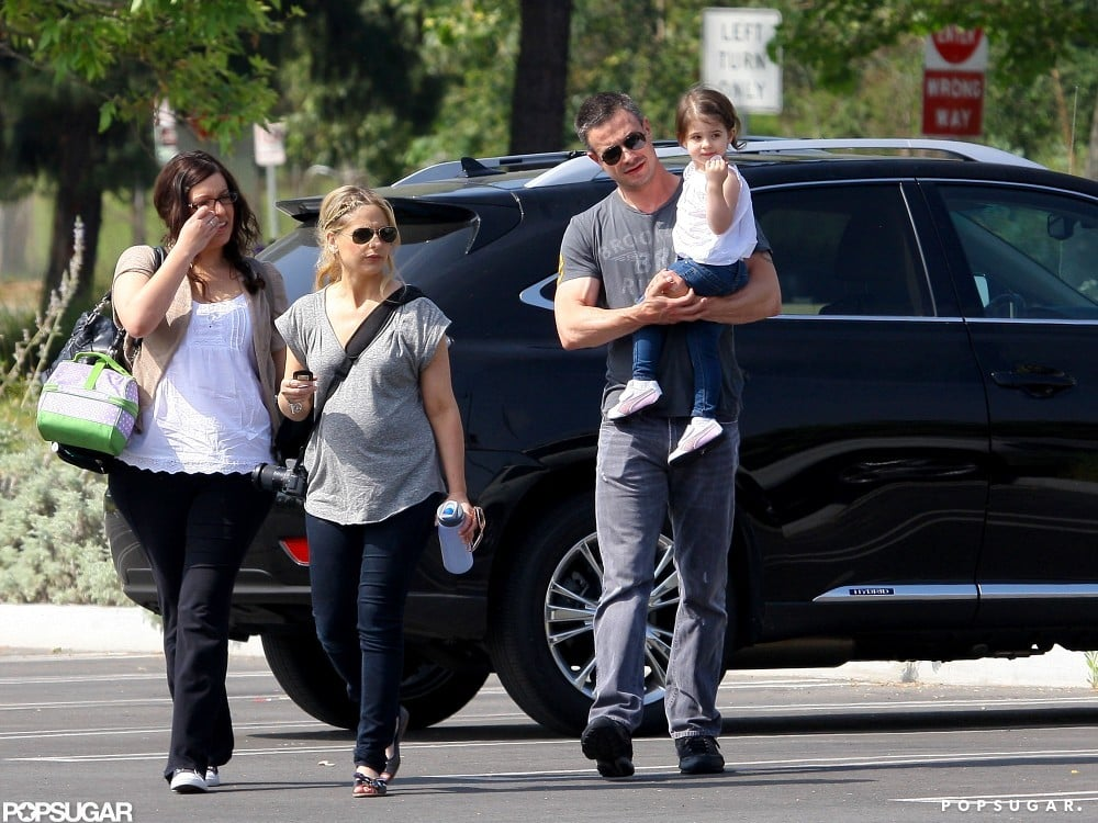 Freddie Prinze Jr. Joins Charlotte and Pregnant SMG at the Zoo