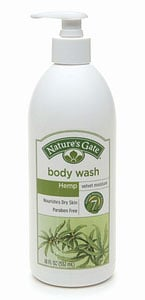Review of Nature's Gate Hemp Velvet Moisture Body Wash