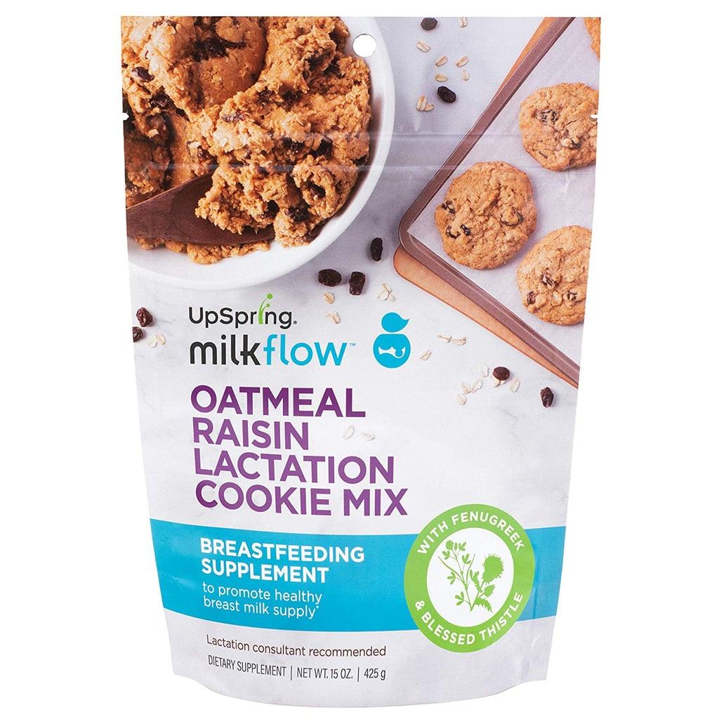 UpSpring Milkflow Fenugreek and Blessed Thistle Lactation Cookies Mix Oatmeal Raisin