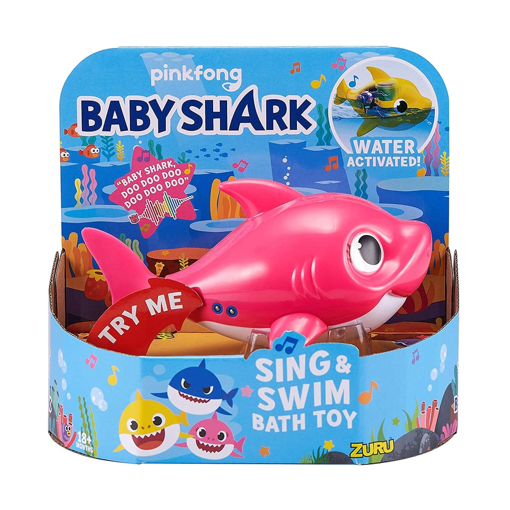Robo Alive Junior Baby Shark Battery-Powered Sing and Swim Bath Toy — Mommy Shark