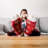 Cozy up in reindeer socks as you watch Elf on repeat.