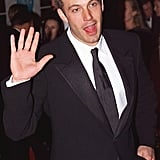 Ben Affleck waved to fans as he arrived for the annual amfAR Gala in 1999.