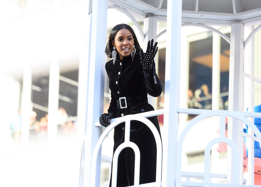Kelly Rowland's Outfit at Macy's Thanksgiving Parade 2019