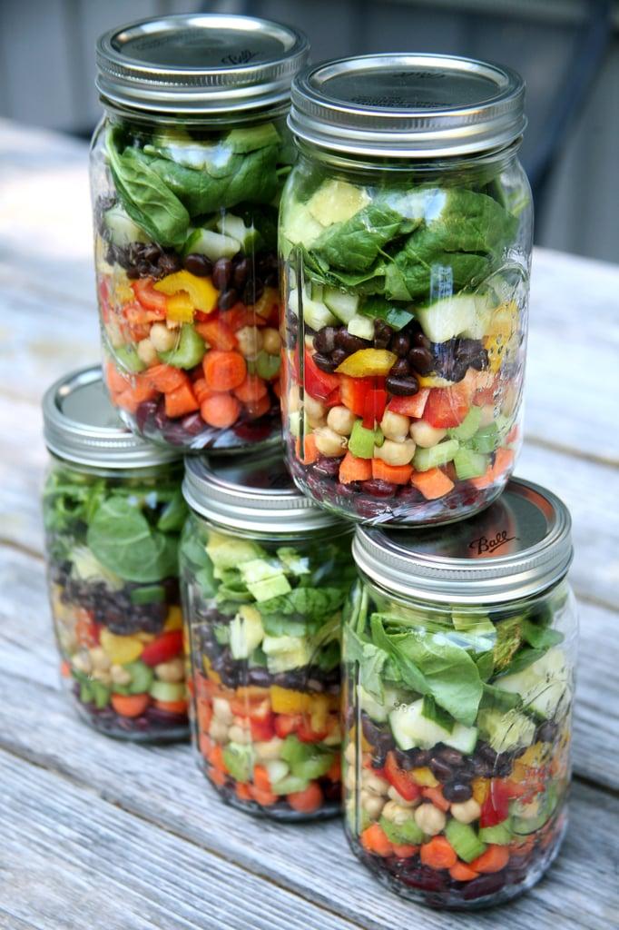Pack (Crisp) Salads For a Full Week