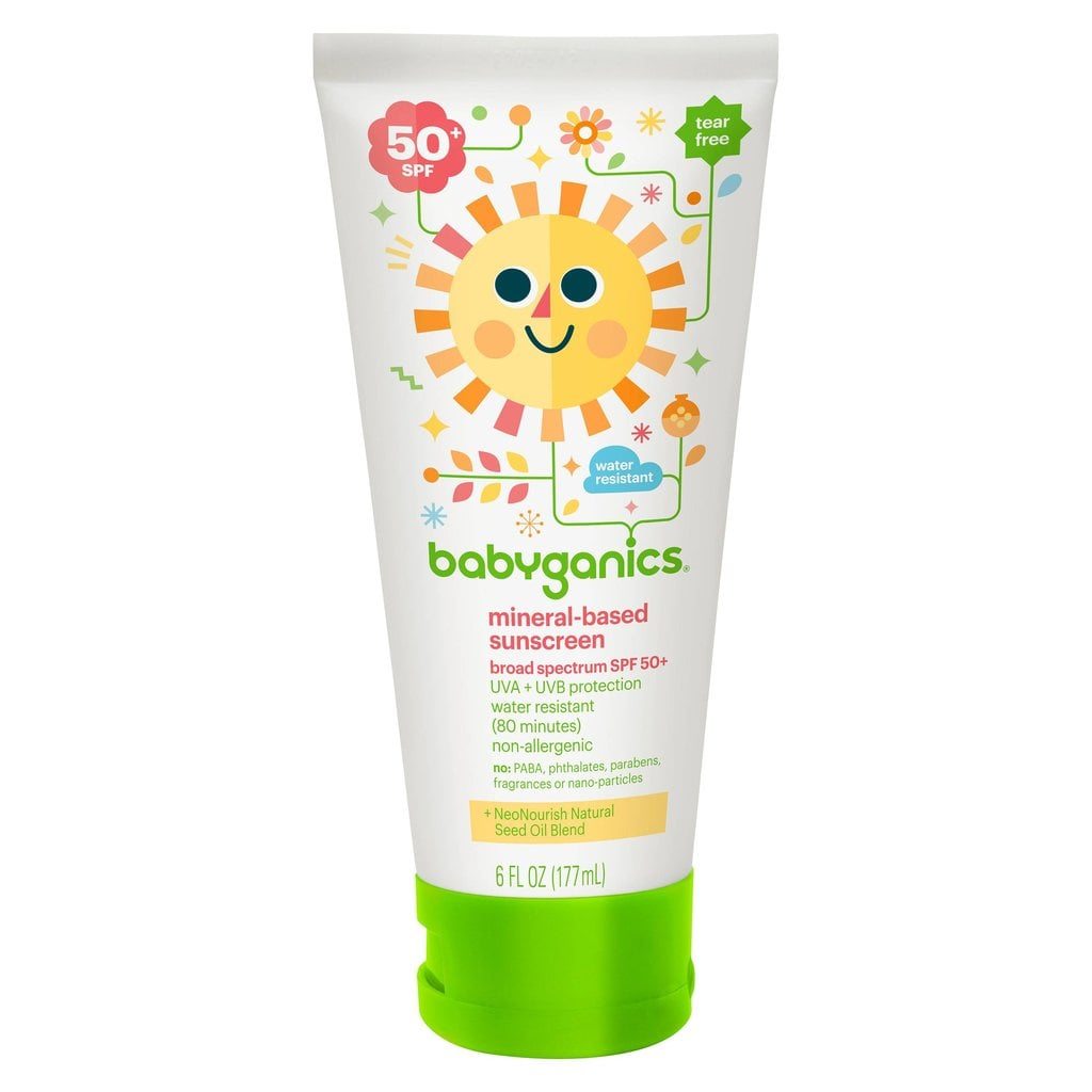 Babyganics Mineral-Based Baby Sunscreen