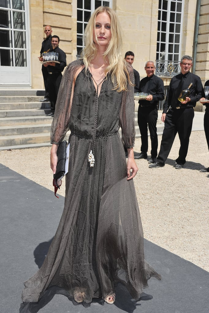 Poppy Delevingne at Christian Dior