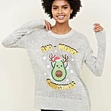 New Look Avo Merry Christmas Jumper