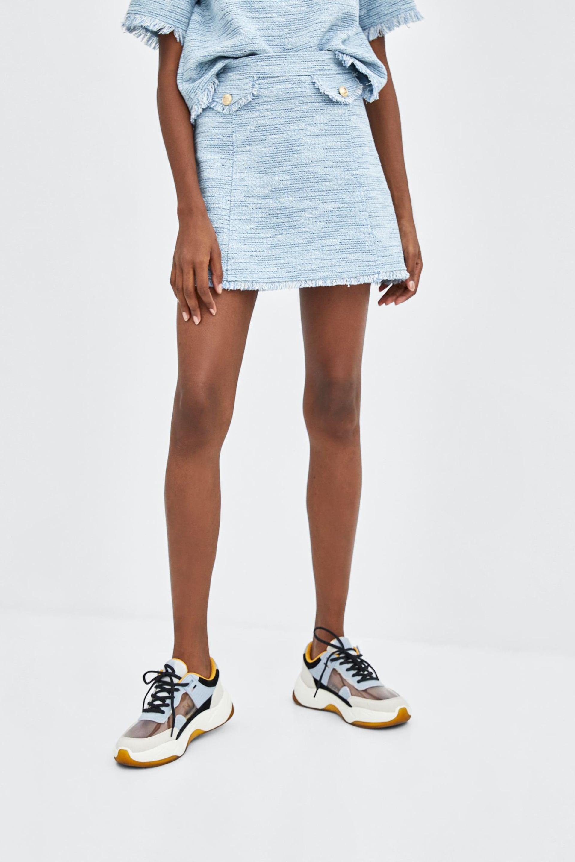 Zara Contrasting Sneakers | Fall 2018's