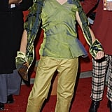 Emma channeled Peter Pan vibes in all green to the New York premiere of Harry Potter and the Sorcerer's Stone in Nov. 2001.