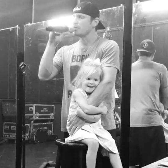 Nick Lachey Singing 98 Degrees to His Daughter