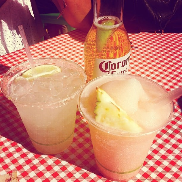 A long week called for Friday drinks at the pop-up El Loco at the Opera House. One slushie, margarita and Corona, coming right up!
