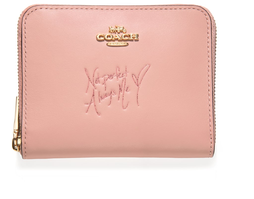 31a1d2b07211 Coach x Selena Small Zip Around Wallet in Colorblock