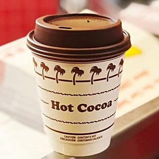 In-N-Out Giving Free Hot Cocoa to Kids on Rainy Days