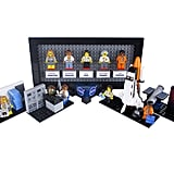 "The Women of NASA Lego set, with their respective ""vignettes"" of what they did."