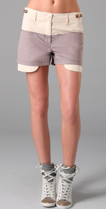 See by ChloeExposed Pocket Shorts ($250)