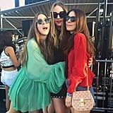 The Haim Sisters Looked Breezy and Beautiful on Day Three
