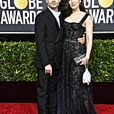 Kieran Culkin at the Golden Globes