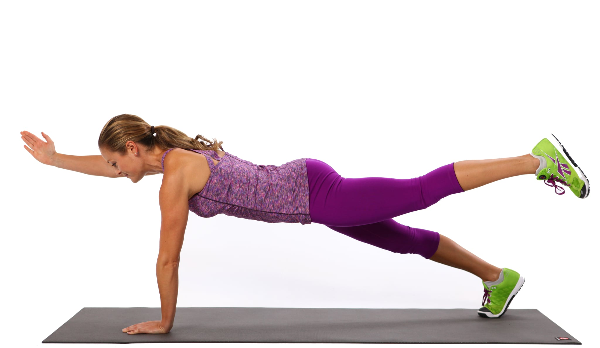 Alternating Two-Point Plank