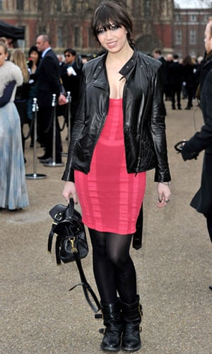 Daisy Lowe at Burberry Prorsum Autumn Winter 2011