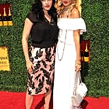 Selma Blair and Rachel Zoe