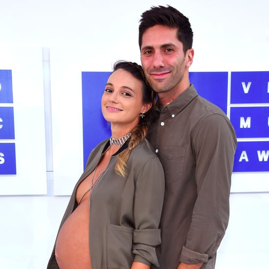 Nev Schulman's Girlfriend's Jacket at the 2016 VMAs