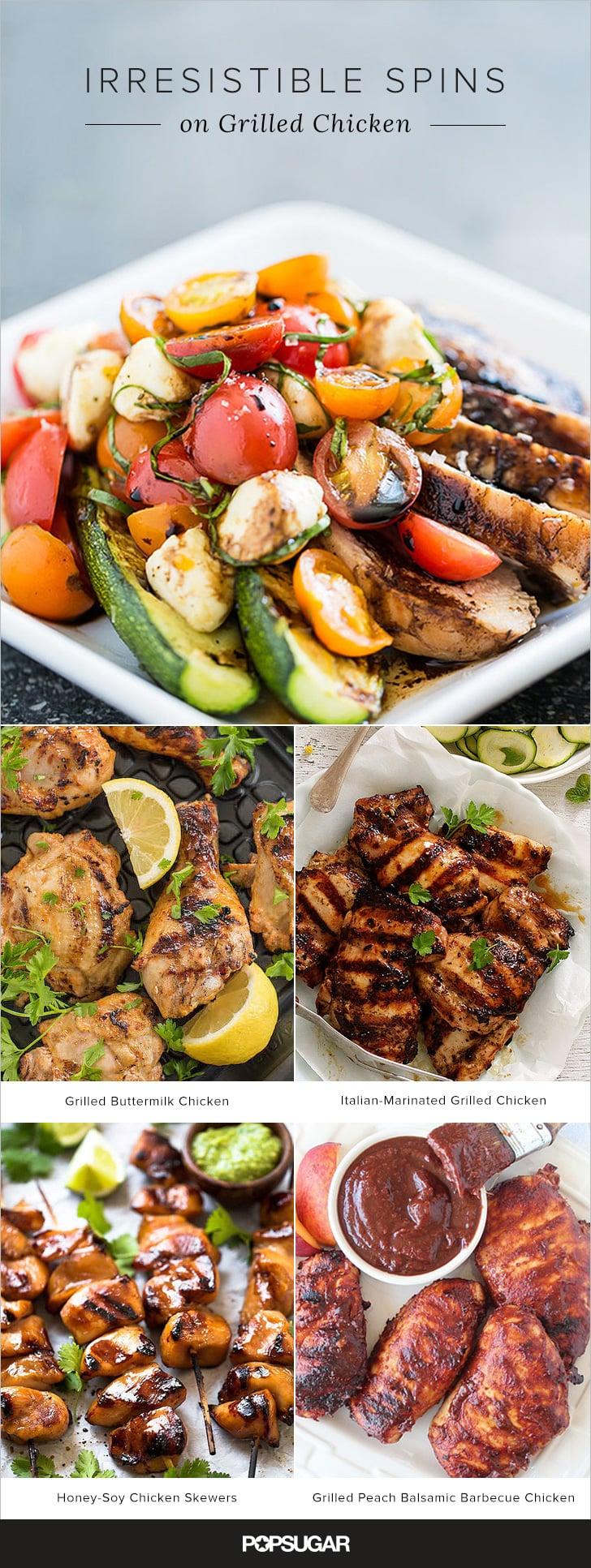 18 Irresistible Spins on Grilled Chicken