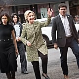 Huma Abedin and Hillary Clinton