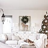 Farmhouse White With Touches of Fresh Greenery
