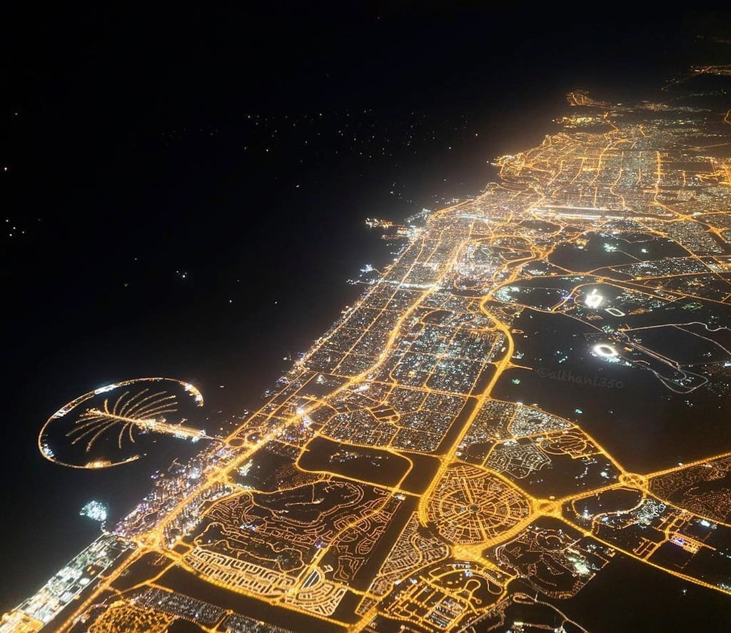 Qatar Airways Pilot Khalifa Al-Thani's Pictures of the World