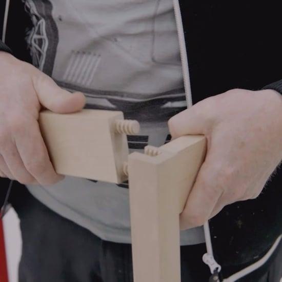 فيديو لإسفين تثبيت قطع الأثاث الجديد من إيكيا