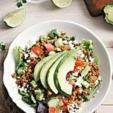 Raw Spicy Walnut Taco Salad