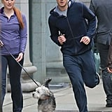 Run, Christian, Run! Anastasia Needs You