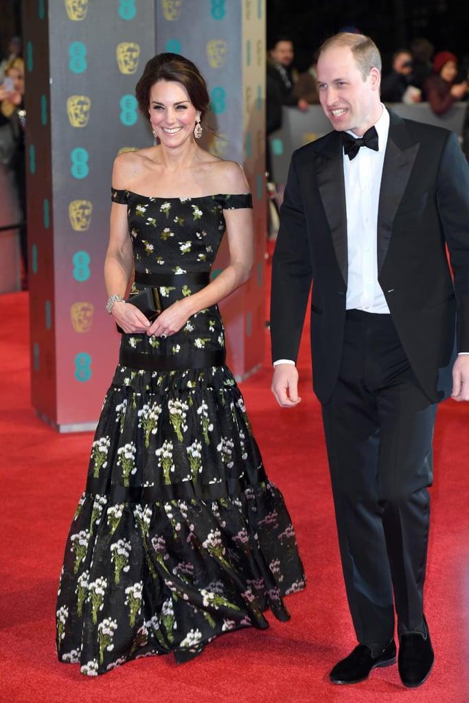 Kate Middleton's Dress at BAFTA Awards 2018
