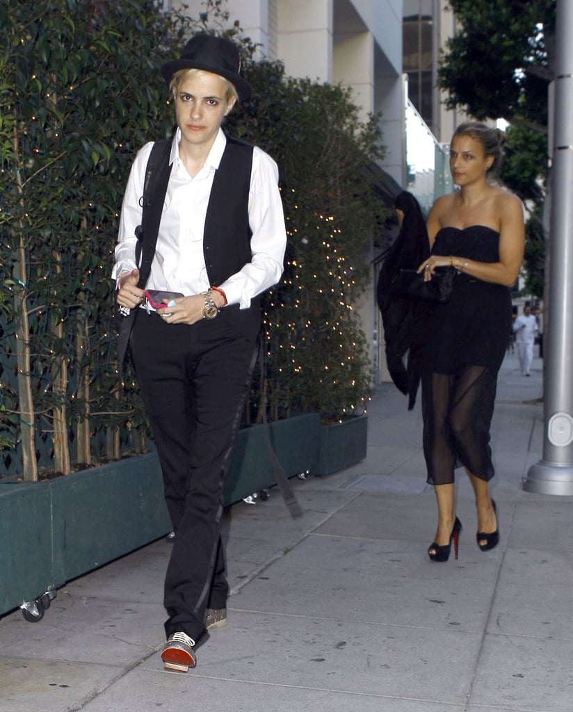 Samantha Ronson and Charlotte Ronson head to Katherine Power's LA wedding.