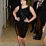 Ariel Winter wore black to the Warner Music bash.